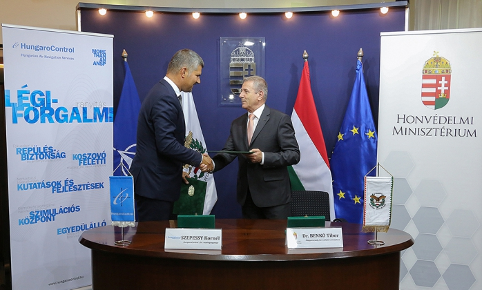 Partnership agreement between the Ministry of Defense and HungaroControl