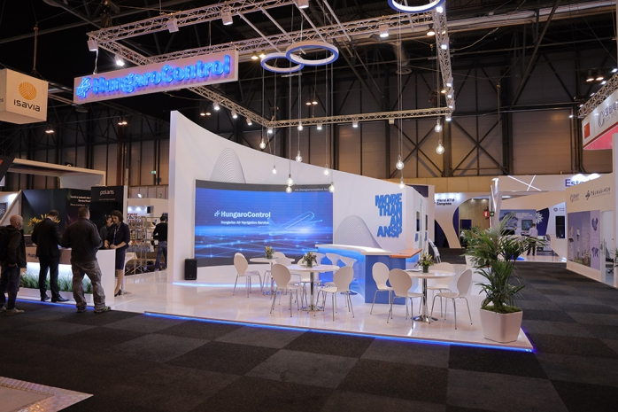 HungaroControl stand at the World ATM Congress