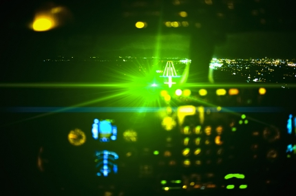 Laser attacks threaten thousands of passengers