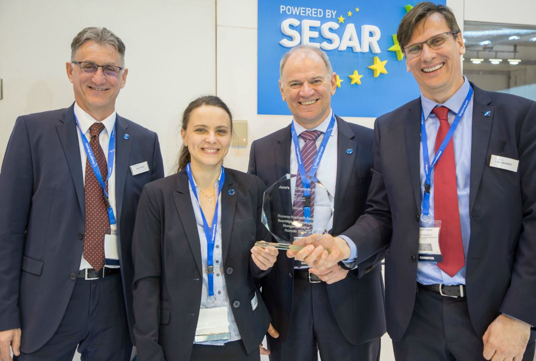 HungaroControl has won Jane's Air Traffic Control Awards for Remote Tower technology